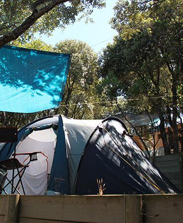 Camping Giens Piazzola camping : TENDA