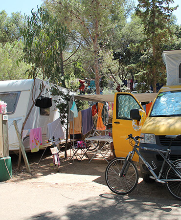 Camping Giens Piazzola camping : ROULOTTE e CAMPER